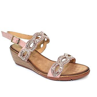 Lunar Sadie Gemstone Wedge Sandaal CLEARANCE
