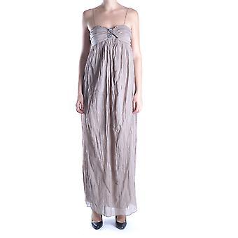 Liu Jo Ezbc086003 Women's Beige Cotton Dress