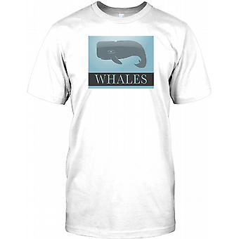 Hvaler-elsker miljøet Herre T shirt
