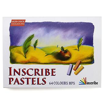 Inscribe Pastels 64 Colours MPS