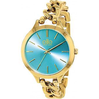 Elite E54384G-116 - watch steel gold woman