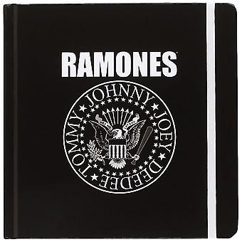 Ramones presidentiële zegel gebonden notebook