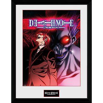 Death Note licht en Ryuk omlijst Collector Print 40x30cm