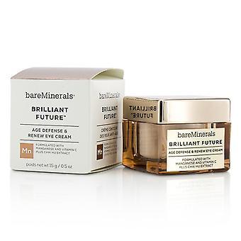 BareMinerals brillante futuro età difesa & rinnovare Eye Cream 15ml/0,5 oz