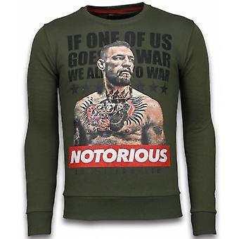 Conor McGregor - Rhinestone Sweater - Groen