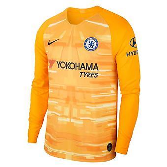 2019-2020 Chelsea Home Nike Goalkeeper Shirt (Gold)