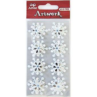 Snowflake Clusters Craft Embellishment By Artoz