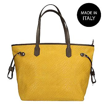 Leather shoulder bag Made in Italy 80061