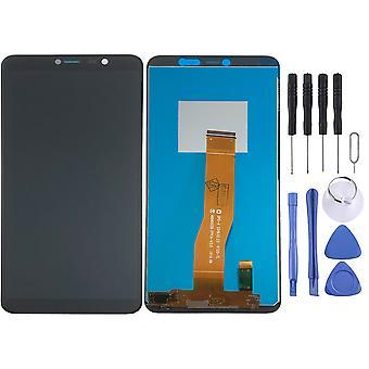 Für Wiko Y80 Display Full LCD Einheit Touch Ersatzteil Reparatur Schwarz Neu