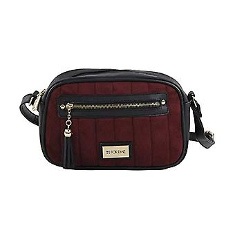 For Time Bolso bandolera Ante - Women's Red Shoulder Bags (Burdeos) 6x15x24 cm (W x H L)