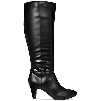 Karen Scott Womens Hollee tissu amande Toe Knee High Fashion bottes