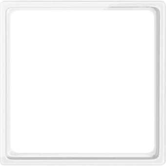 Merten mellomfag ramme System M Polar hvite skinnende 518519