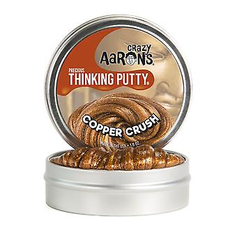 Crazy Aaron Copper Crush Thinking Putty 8Cm Tin