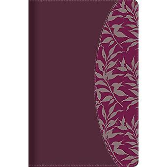 Rvr 1960 Biblia de Estudio Para Mujeres - Vino Tinto/Fucsia Simil Pie