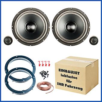 VW Golf 4 and Golf 6 speakers, speakers, door front