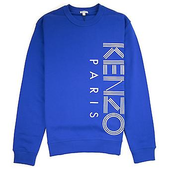 Kenzo side Parijs logo Sweatshirt blauw