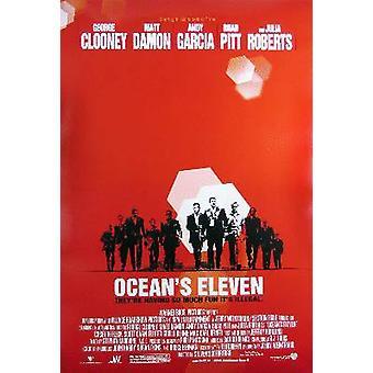 Ocean-apos;s Eleven (Double Sided Regular) Original Cinema Poster