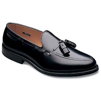 Allen Edmonds mens Grayson tyg rund tå Penny loafer