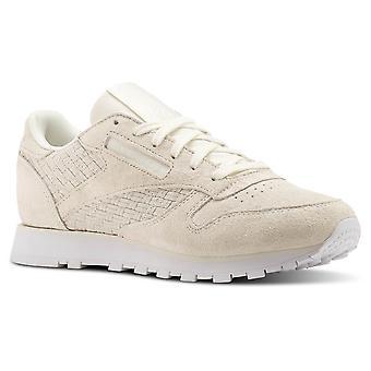 Reebok CL Lthr Woven Emb BT0006 universal all year women shoes