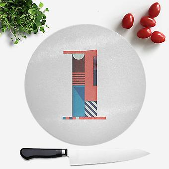 1 Round Chopping Board