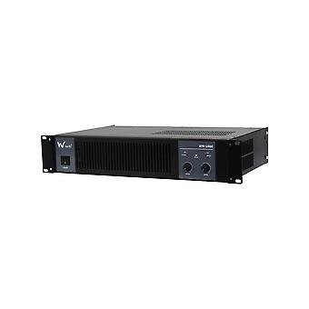 W Audio Xtr-1500 Power Amplifier