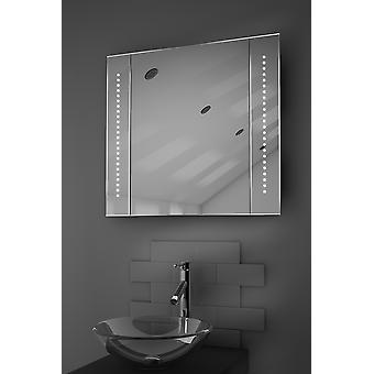 Forbløffe LED bad speil kabinett med Sensor & barbermaskinen k18