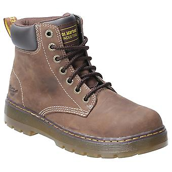 Dr. Martens Unisex Winch Dantela Up Boot Brown