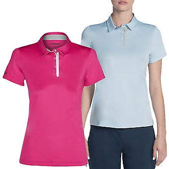 Skechers Golf Donne Pitch Short Sleeve Polo Camicia Polo