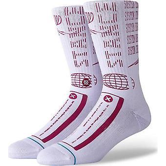 Stance Terminated Crew Socks in Lavender