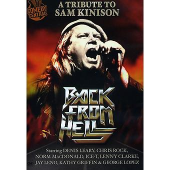Back From Hell: A Tribute to Sam Kinison [DVD] USA import