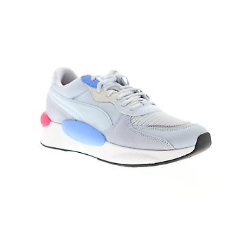 Puma RS 9.8 Gravity  Mens Blue Suede Lace Up Low Top Sneakers Shoes