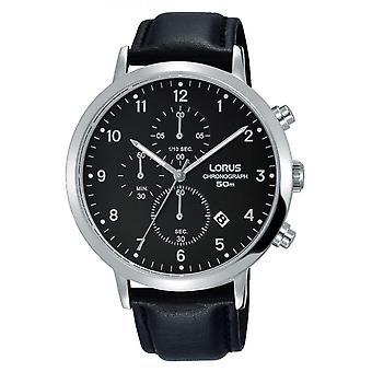Watch Lorus RM315EX9 - classic læder sort mand