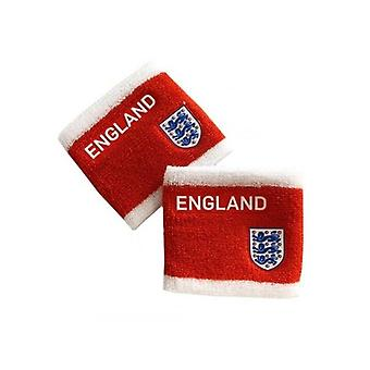 England FA Unisex Adults Set Of Two Wristbands