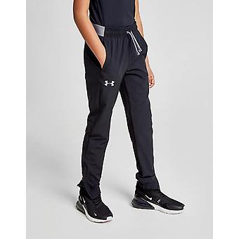 New Under Armour Boys' Woven Track Pants Black