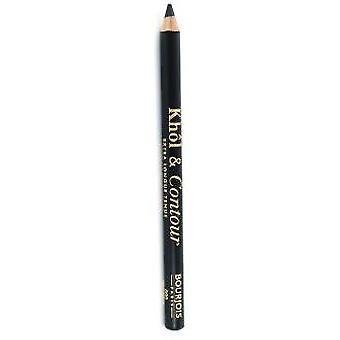 Bourjois Paris Kohl and Contour Eye Pencil #002-Ultra Black 1,2 gr