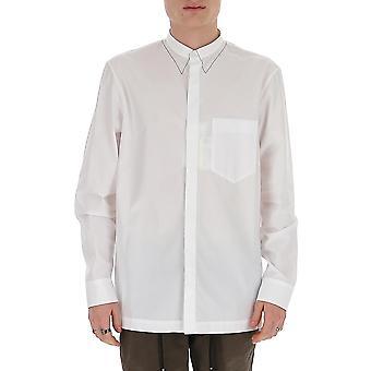 Maison Margiela S30dl0469s43001100 Men's White Cotton Shirt