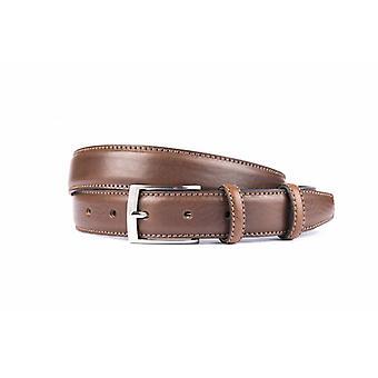 Neat Brown Men's Belt