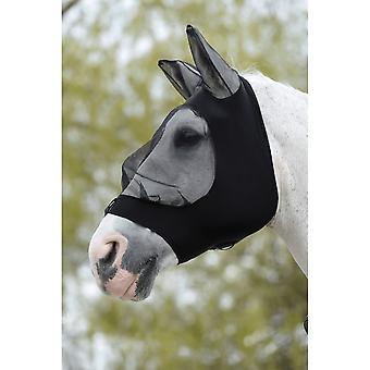 Weatherbeeta Stretch Eye Saver With Ears - Black/black