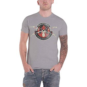 Star Wars T Shirt Force Awakens The Resistance X Wing Official Mens Grey