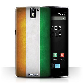 STUFF4 Tapaus/kansi OnePlus yksi ja Norsunluurannikon/liput