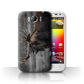 STUFF4 Case/Cover for HTC Sensation XL/G21/Moose/Bull/North America Animals