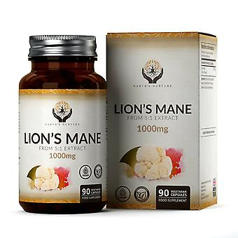 Earth's Nurture Lion's Mane Extract Capsules