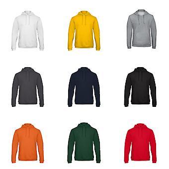 B & C Yetişkin Unisex Kimliği. 203 50/50 Kapüşonlu Sweatshirt