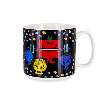 Mr Strong Heat Sensitive Colour Change Mug - Ideal para café y té