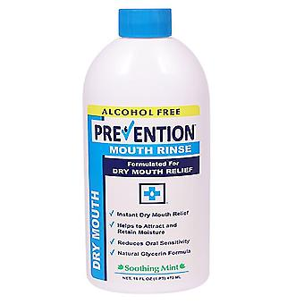 Prevention dry mouth rinse, 16 oz