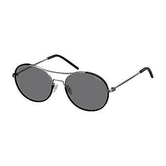 Polaroid Original Unisex Frühling/Sommer Sonnenbrille - schwarz Farbe 30829