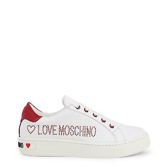Love Moschino Original Women Fall/Winter Sneakers - White Color 57184