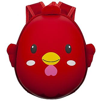 Backpack for Kids, Chicken - Red