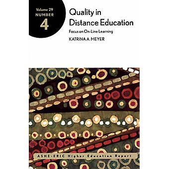 Quality in Distance Education by Augustine & Catherine
