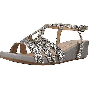Soul in Pena Sandalen V20819 Color Pewter